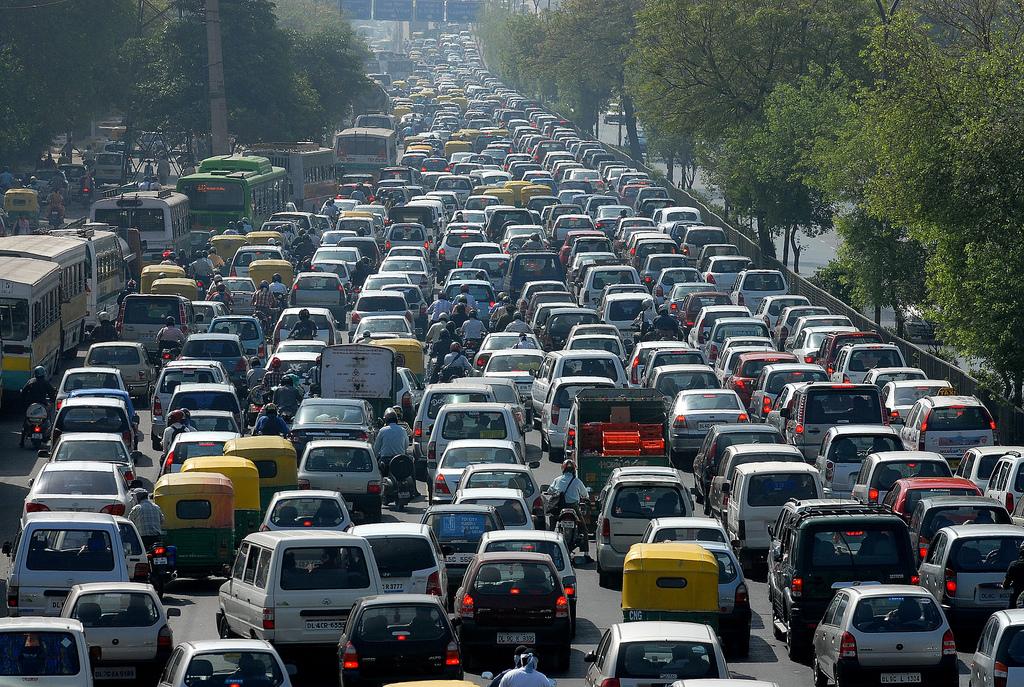Traffic Jams & Social Media Gridlock